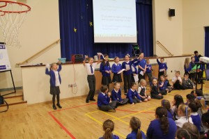 Singing our Fairtrade song