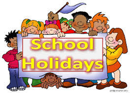 School Holidays 201819 Udston Primary School
