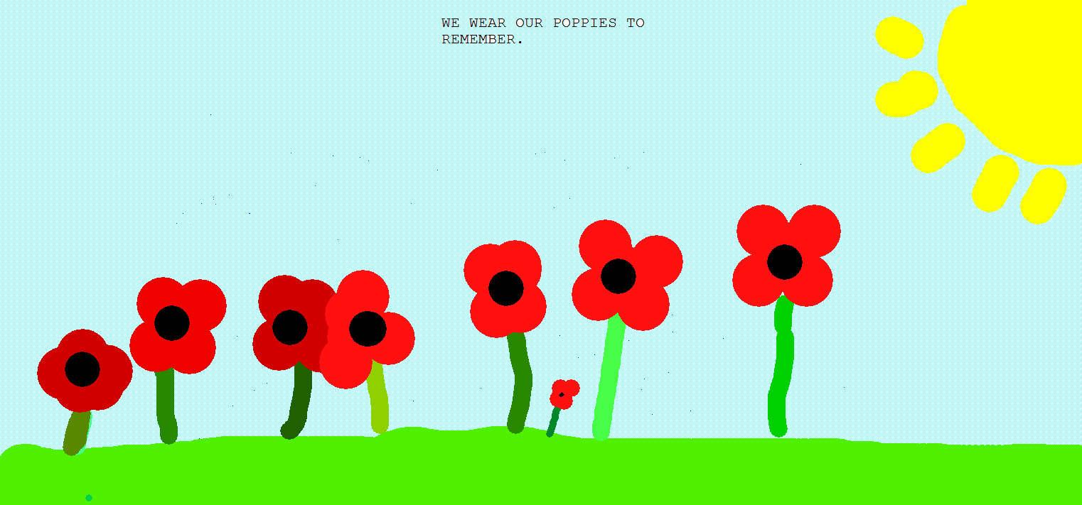 Remembrance Website Header | Udston Primary School