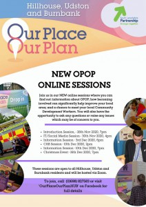 Our Plan Our Place - Online Sessions